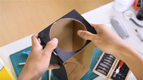 Proyektor Kardus yuk bikin proyektor ponsel dari kardus bekas nonton jadi serasa di bioskop lho