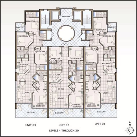 condos floor plans floor plans for gulf shores alabama colonnades 4 bedroom