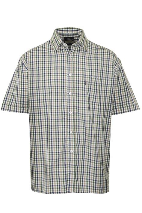 country style shirt mens chion country style casual check sleeved