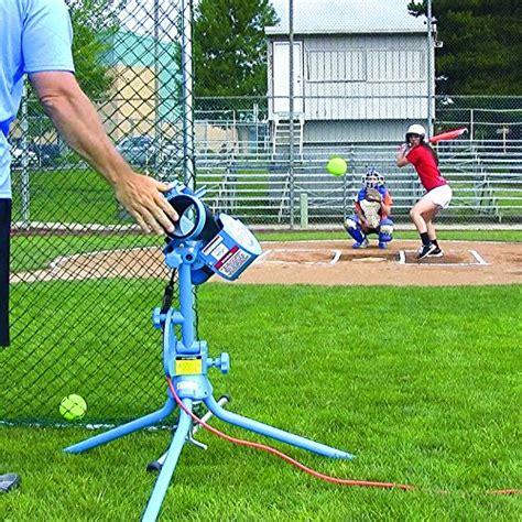 pitch swing baseball pitching machine softball practice swing batting