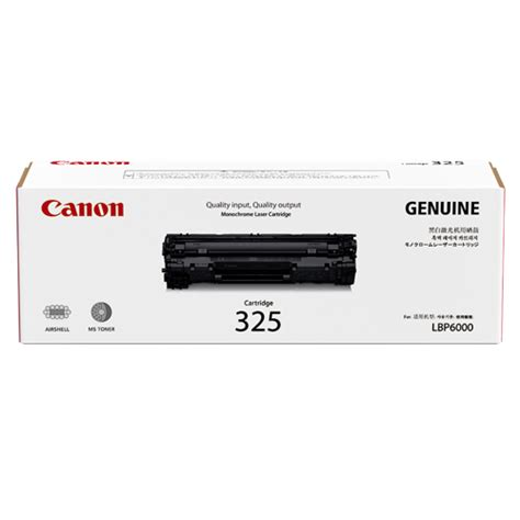 canon cartridge 325 black toner end 1 10 2019 3 00 am