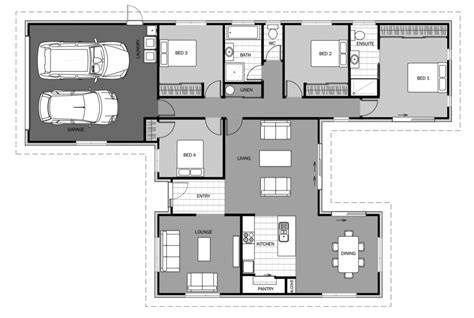 home floor plans for building new home designs house plans nz home builders