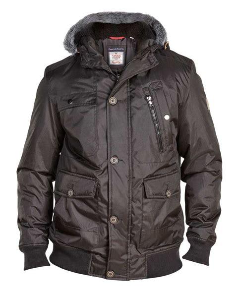 Jaket Parka Big Size Xl To d555 jerrard mens parka bomber jacket in black in size