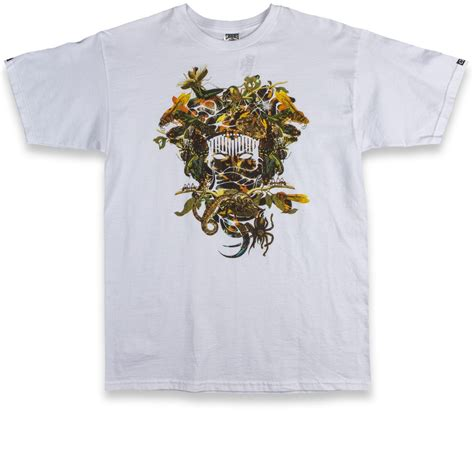 Crooks And Castles Pillow by Crooks And Castles Medusa T Shirt White