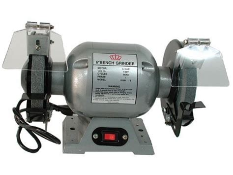 king 6 bench grinder 3 4 hp