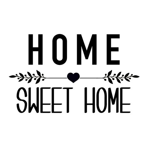 home sweet home decoration sticker quot home sweet home quot affaires de famille