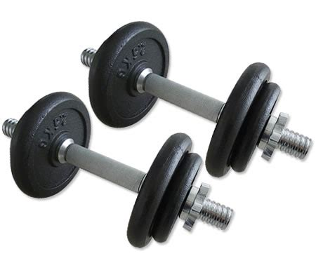 Dumbbell Set 20kg 20kg Dumbbell Set With Carry Box Sales