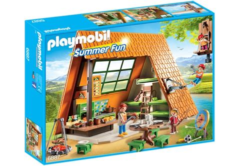 flying with large in cabin playmobil cabin with flying fox 6887