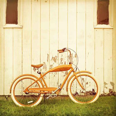 photography home decor bicycle photography rustic decor retro bike orange wall