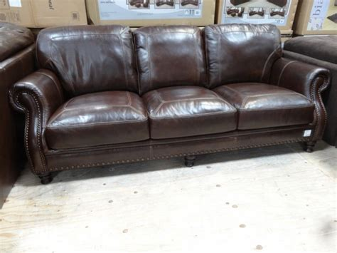 Simon Li Leather Sofa Costco Simon Li Leather Sofa Simon Leather Sofa Brown Traditional Sofas By Li Thesofa