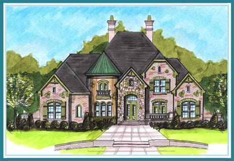 french style house plans boyehomeplans french country style plan search