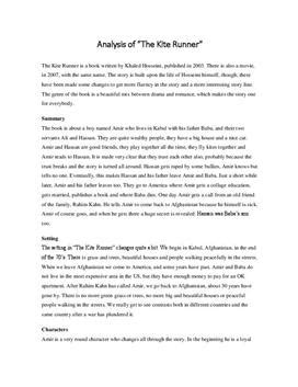 theme essay on the kite runner english essay the kite runner studienett no