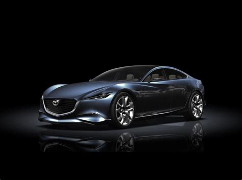 luxury cars new mazda shinari concept