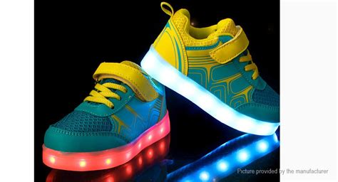 Sport Raindrop Grey Led Sz 31 36 28 27 children led light up sneakers sports shoes size 36 yellow green 16 led 7