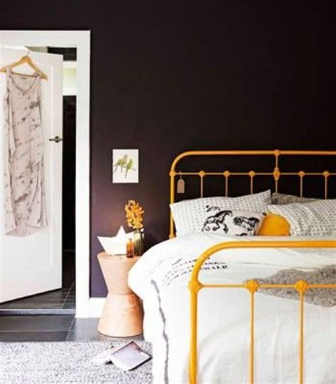 yellow bed frame 28 unique metal headboards that are worth investing in