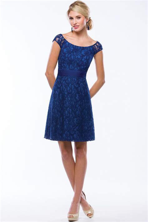 royal blue boat neck dress royal blue scoop neck knee length vintage all over lace