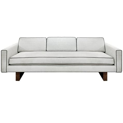 line sofa clean line sofa no 1573 by harvey probber for sale at 1stdibs