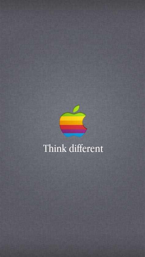 wallpaper apple think different think different iphone 5 wallpapers top iphone 5