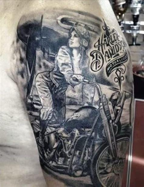 biker u0026 harley davidson tattoos 1000 ideas about motorcycle tattoos on biker