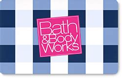 Bath And Body Gift Card Balance - gift cards bath body works