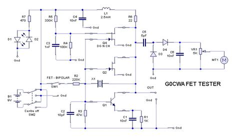 transistor fet tester fet transistor tester schematics 28 images in or out of circuit transistor fet equipment