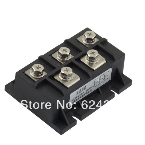 silicon controlled module diode bridge rectifier ac 2000v 200a three 3 phase silicon semiconductor diode bridge rectifier module mds 200a