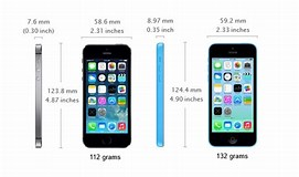 Image result for iphone 5s size comparison