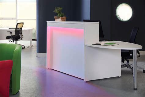 mobile reception desk reception desk lighting