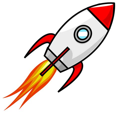 clipart rocket clipart cartoon moon rocket remix 2