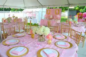 pink and gold baby shower ideas pink and gold ballet themed baby shower