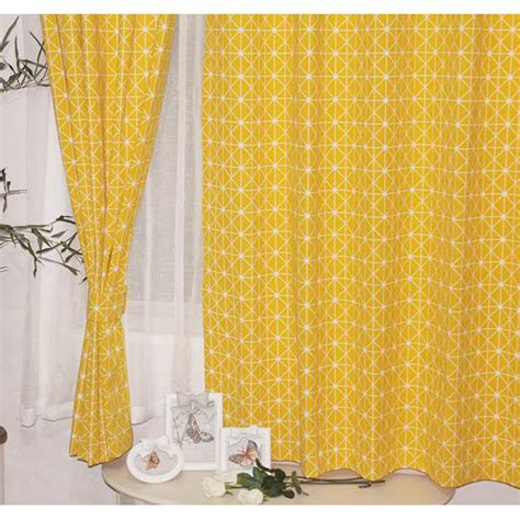 short yellow curtains high end curtains window drapes custom curtains sale