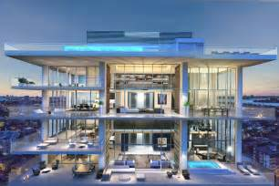 Rooftop Deck House Plans 5 Stunning Miami Beach Penthouses With Pool Designrulz