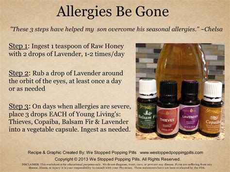 essential oils for allergies lavender s essential cabinet