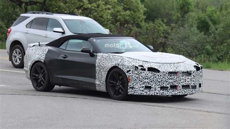 2019 Chevrolet Lineup by 2019 Chevy Camaro Lineup Spied Photo