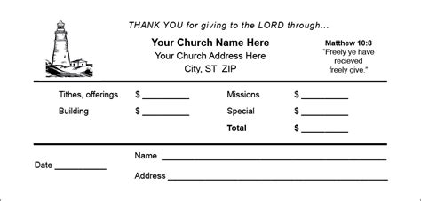 Tithe Envelopes Printing Calvary Publishing Tithe Envelope Template