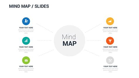 Free Mind Map Powerpoint Template Ppt Presentation Theme Mind Map Template Powerpoint Free