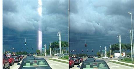 fenomena alam terekam kamera  diyakini pertanda akhir