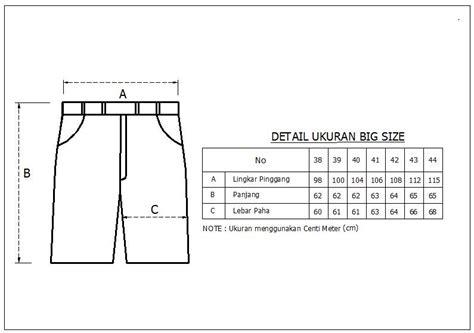 Beli 3 Lebih Murah Celana Pendek All Size jual beli celana pendek levi s pria big size biru garment jumbo baru celana denim