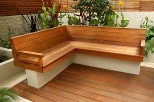 Garden wood patio bench ideas 319