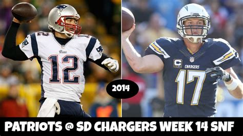 patriots v chargers 2014 patriots chargers snf week 14 spread picks 2014
