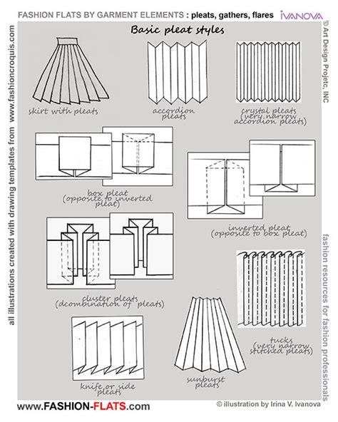 fashion pattern types pleats