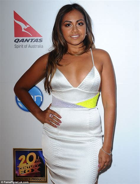 australian actress weight loss jessica mauboy proudly shows off her recent weight loss in