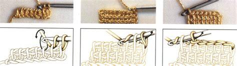 como aprender hacer punto salomon en crochet punto tunecino de tejido a ganchillo tejer punto