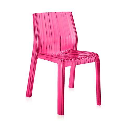 sedie cartell sedie sedia frilly da kartell