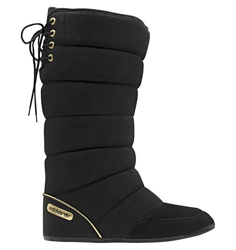 new womens adidas northern boot winter black warm soft fur lined snow boots ebay