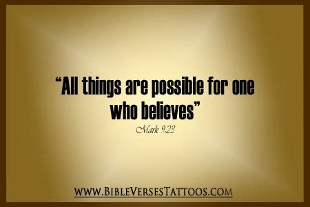 all things are possible for one who believes get more