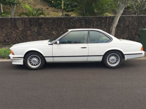1988 bmw 635csi 2 door coupe 70 000 original paint