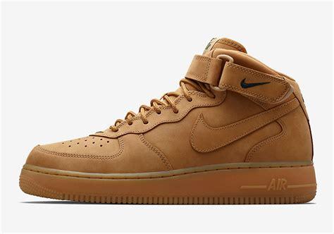 Nike 1 Mid Flax Premium Originalsepatu Nike One Brown nike air 1 mid flax asia release date sneakernews