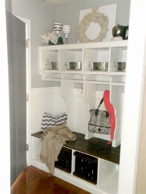 how to build a mudroom bench with cubbies diy entryway mudroom with cubbies for under 150 entry
