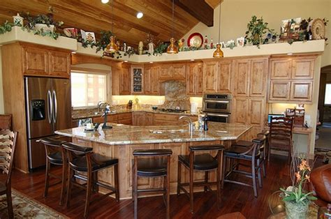 Rustic Kitchen Designs Photo Gallery Kitchens Rustic Contemporary Kitchen Kitchen Decorating Ideas Rustic Ideas Twipik